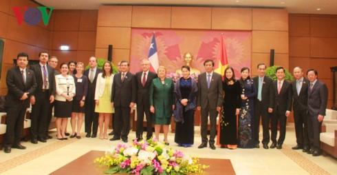 Chủ tịch Quốc hội Nguyễn Thị Kim Ngân hội kiến Tổng thống Cộng hòa Chile - ảnh 2