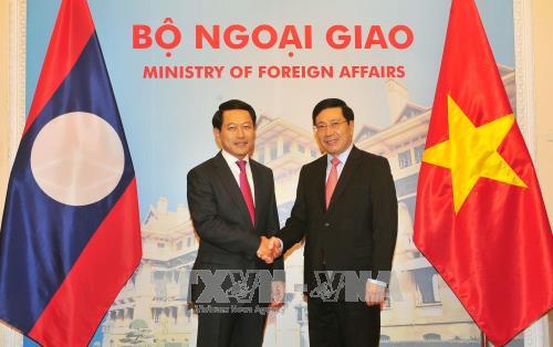 Tham vấn cấp Bộ trưởng Ngoại giao Việt Nam – Lào - ảnh 1