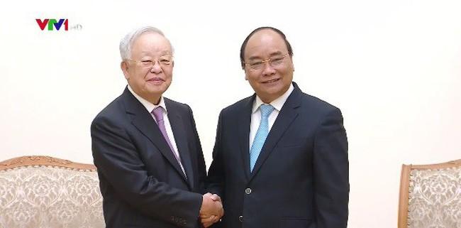 Thủ tướng Nguyễn Xuân Phúc tiếp Chủ tịch Tập đoàn CJ (Hàn Quốc)  - ảnh 1