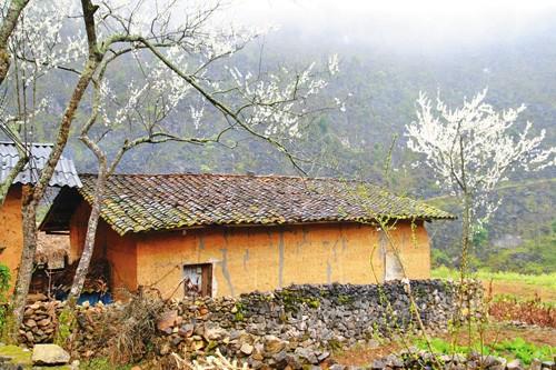 Kiến trúc nhà ở của người Mông ở Hà Giang - ảnh 1