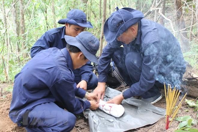 An Giang quy tập 116 hài cốt liệt sĩ quân tình nguyện Việt Nam hy sinh tại Campuchia - ảnh 1