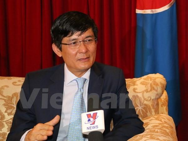 Ambassador underlines Vietnam's contributions to ASEAN - ảnh 1