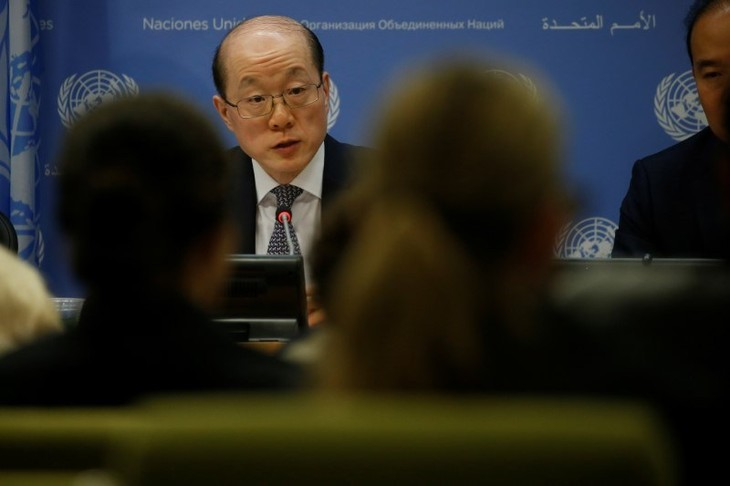 Up US, North Korea to ease tensions, not China: China UN envoy - ảnh 1
