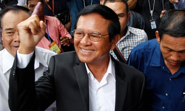 Cambodia charges opposition leader Kem Sokha with treason - ảnh 1