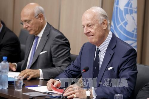 UN Special Envoy calls for long-term solutions to Syria - ảnh 1