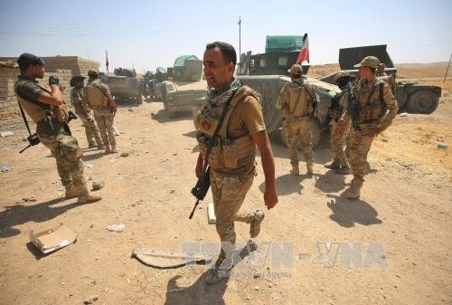 Iraqi army advances in fight against IS - ảnh 1