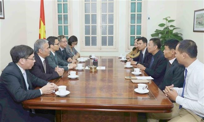 Vietnam, Cambodia news agencies urged to promote cooperation - ảnh 1