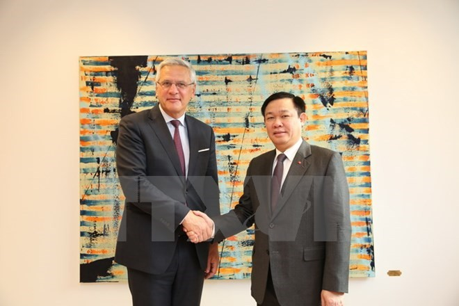 Belgian leaders treasure ties with Vietnam - ảnh 1