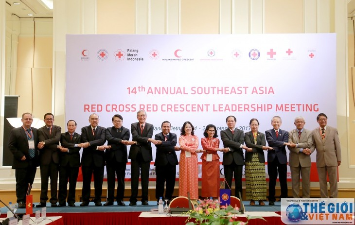 Southeast Asia Red Cross, Red Crescent cooperate in humanitarian aid  - ảnh 1