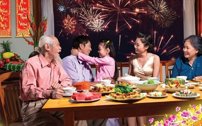 Year-end party in Vietnamese families - ảnh 1