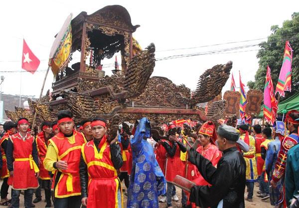 Elephant procession festival in Phu Tho - ảnh 3