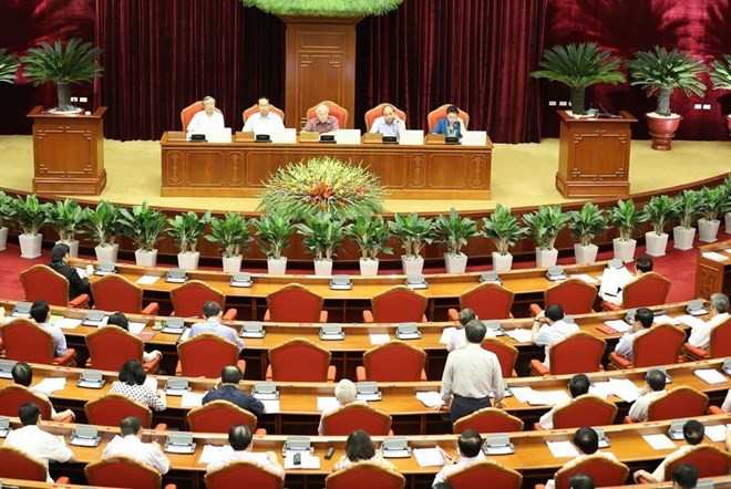 7th session of 12th Party Central Committee continues - ảnh 1