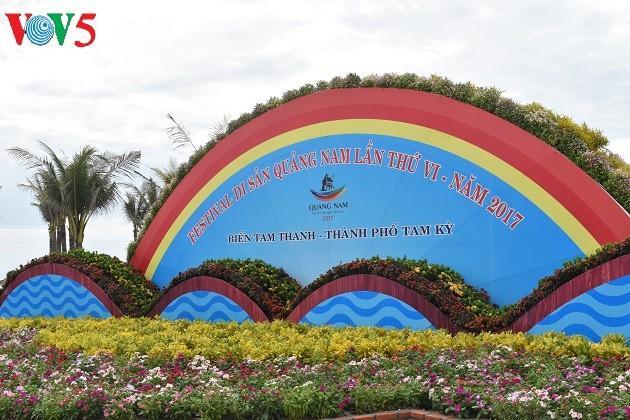 សកម្មភាពជាច្រើនត្រូវបានរៀបចំឡើងមុននឹង Festival បេតិកភ័ណ្ឌ Quang Nam - ảnh 1
