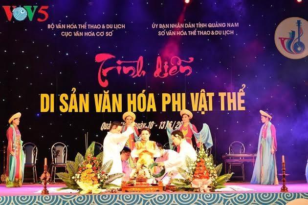 សកម្មភាពក្នុងក្របខ័ណ្ឌនៃមហោស្រពបេតិកភណ្ឌ Quang Nam លើកទី៦ - ảnh 2