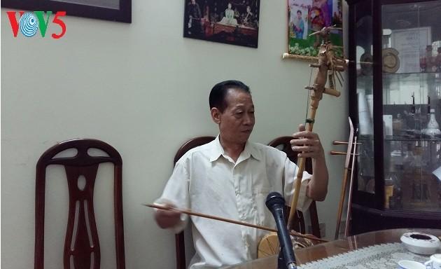 សិល្បករប្រជាជន Xuan Hoach និងតូរ្យតន្រ្តីប្រជាប្រិយ - ảnh 1