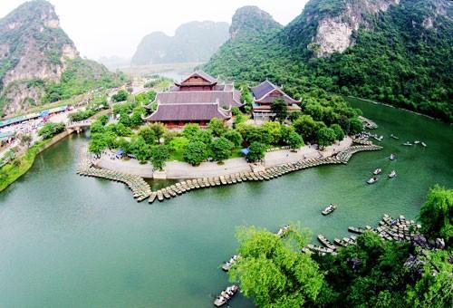 ឧទ្ទេសនាមអំពីតំបន់រមណីដ្ឋាន Trang An នៅខេត្ត Ninh Binh - ảnh 1