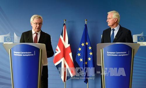 បញ្ហា Brexit៖ ទទួលបានការរីកចម្រើនក្នុងកិច្ចចរចារប៉ុន្តែមិនទាន់គ្រប់គ្រាន់ដើម្បីឈានទៅដំណាក់កាលទី២ - ảnh 1