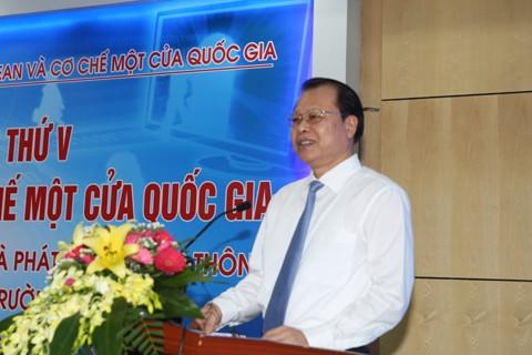 В Ханое прошло заседание Госкомитета по механизмам «одно окно АСЕАН» и «одно окно Вьетнама» - ảnh 1