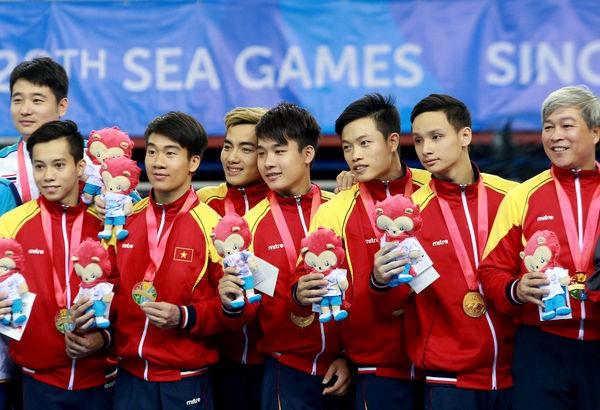 Вьетнамские спортсмены успешно выступают на Сигеймс-28 - ảnh 1