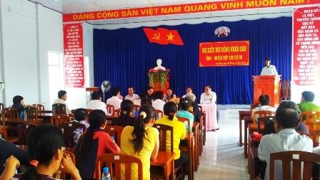 Депутаты вьетнамского парламента выслушали мнения избирателей - ảnh 1