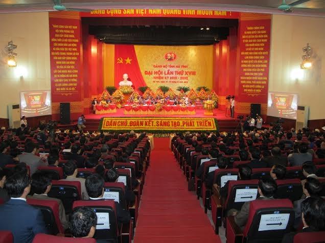 Руководители КПВ приняли участие в партконференции провинции Хатинь - ảnh 1