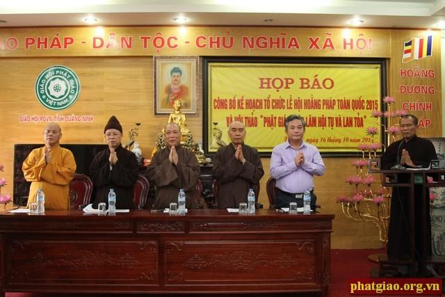 В провинции Куангнинь пройдет общереспубликанский праздник просветления - ảnh 1