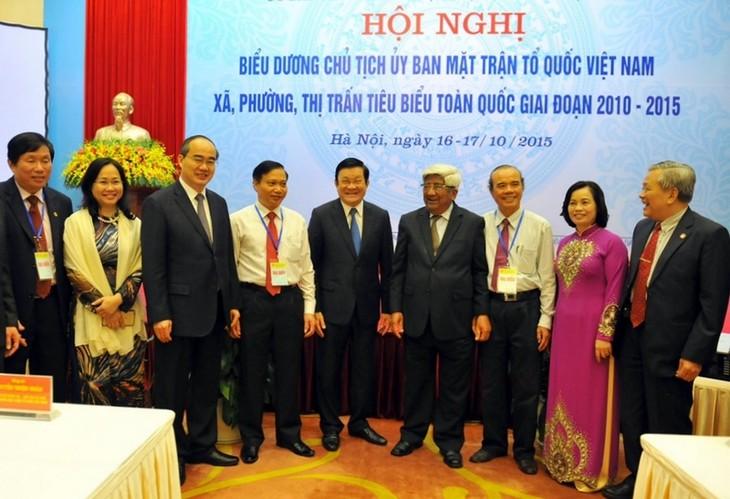 Во Вьетнаме названы лучшие председатели комитетов Отечественного фронта разных уровней - ảnh 1
