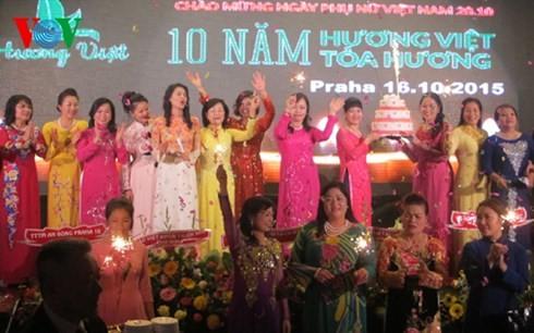 Вьетнамская диаспора за границей отмечает День вьетнамских женщин - ảnh 1
