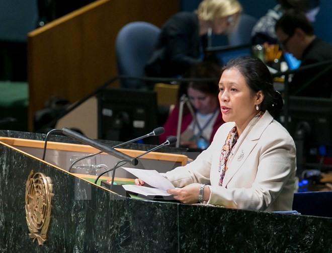 Вьетнам обещает продолжать тесно сотрудничать с органами ООН в реализации права - ảnh 1