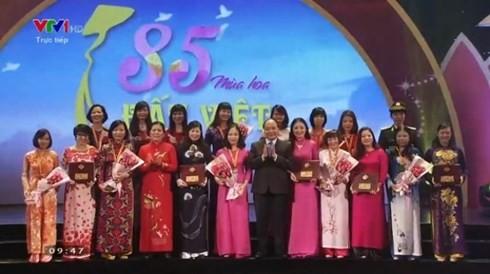 Во Вьетнаме празднуют 85-летие со дня создания Союза вьетнамских женщин - ảnh 1