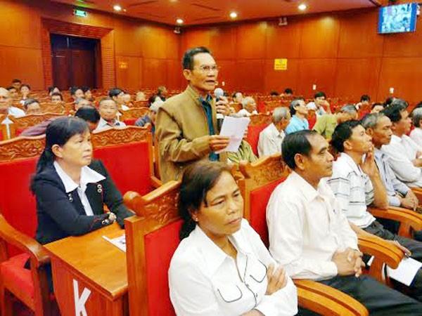 Вице-спикер парламента Тонг Тхи Фонг встретилась с избирателями провинции Даклак - ảnh 1