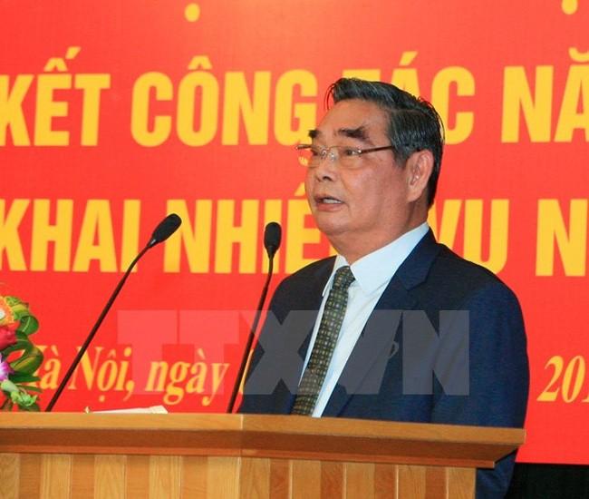 Определены задачи канцелярии ЦК Компартии Вьетнама на 2016 год - ảnh 1