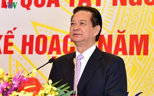 Нгуен Тан Зунг принял участие в конференции Министерства транспорта и путей сообщения - ảnh 1