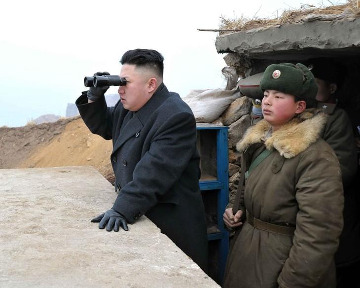 Лидер КНДР Ким Чен Ын впервые выступил с заявлением по поводу ядерного испытания - ảnh 1