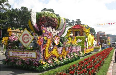 Далат – город цветочных фестивалей - ảnh 1