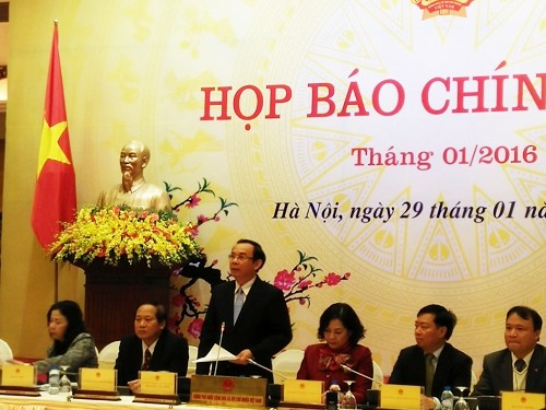 Состоялась первая в 2016 году очередная пресс-конференция вьетнамского правительства - ảnh 1
