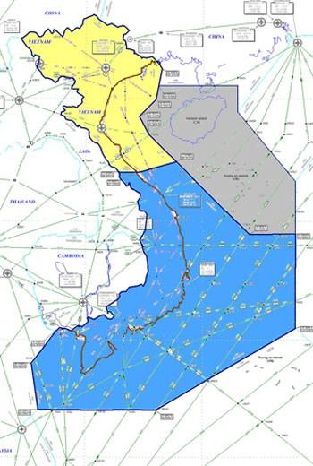 ИКАО скорректировала авиационную карту относительно района полетной информации Санья - ảnh 1