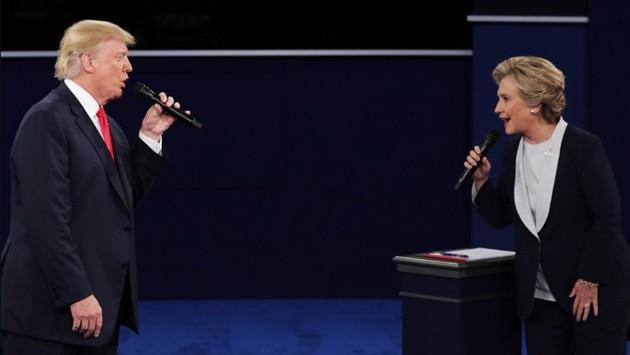 Американская общественность о 2-м раунде теледебатов между кандидатами в президенты - ảnh 1