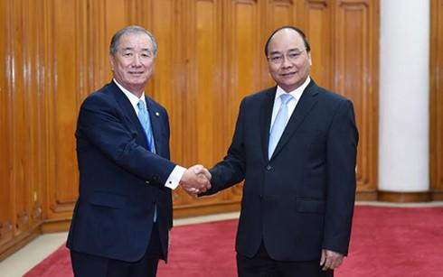 Вьетнам посетила делегация японских предпринимателей - ảnh 1