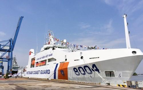 Командование морской полиции Вьетнама ввело в эксплуатацию многофункциональный корабль «2000» - ảnh 1