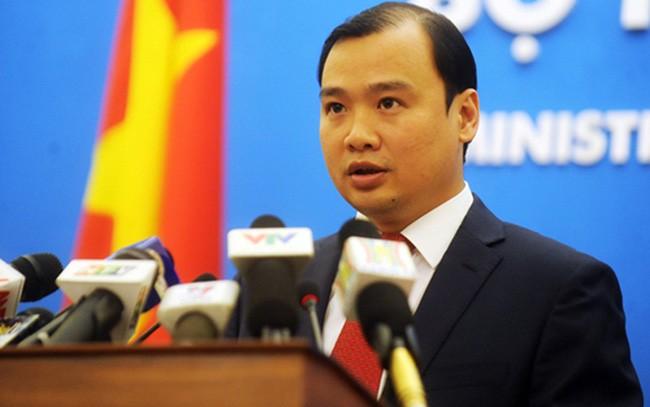 Реакция Вьетнама на присутствие американского военного корабля вблизи островов Хоангша - ảnh 1