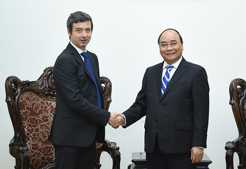 Премьер-министр СРВ Нгуен Суан Фук принял министра юстиции Италии - ảnh 1