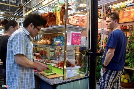 Уличная еда в городе Хошимине - ảnh 1