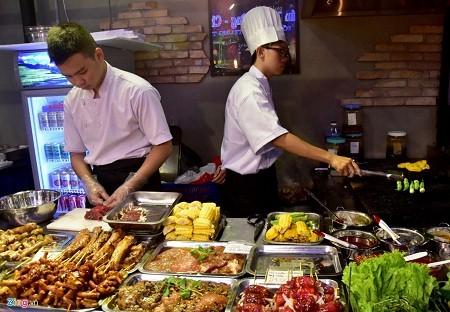 Уличная еда в городе Хошимине - ảnh 2