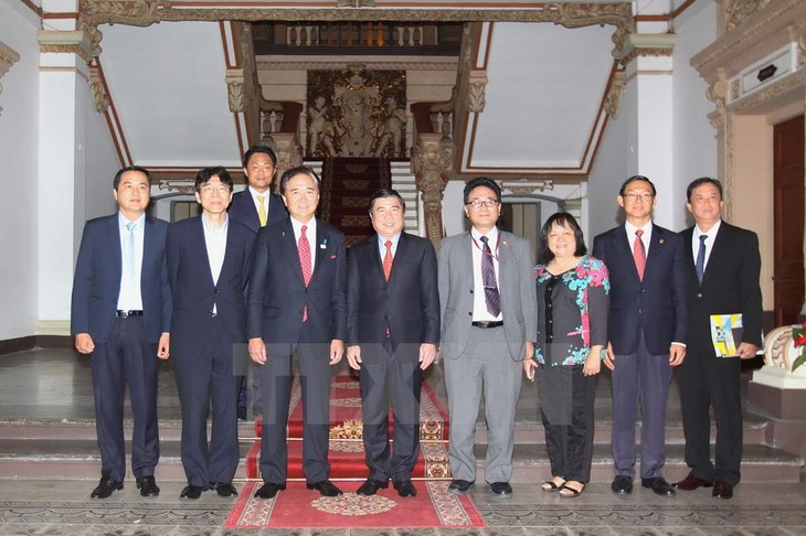Город Хошимин расширяет сотрудничество с японской префектурой Канагава - ảnh 1
