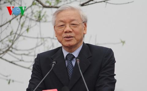 Генсекретарь ЦК КПВ Нгуен Фу Чонг совершит государственный визит в Камбоджу  - ảnh 1