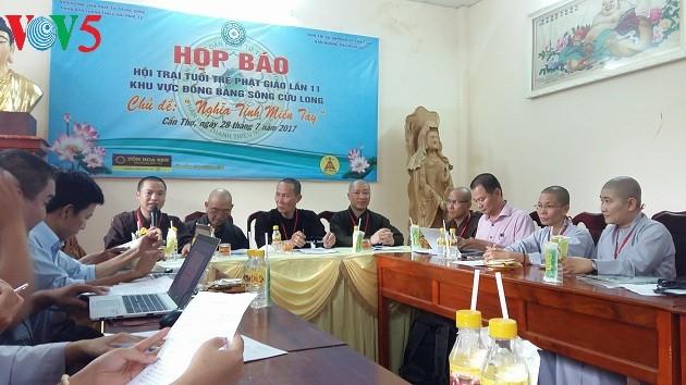 Молодёжный буддистский лагерь: человеколюбие в дельте реки Меконг - ảnh 1