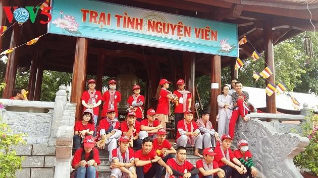 Молодёжный буддистский лагерь: человеколюбие в дельте реки Меконг - ảnh 3