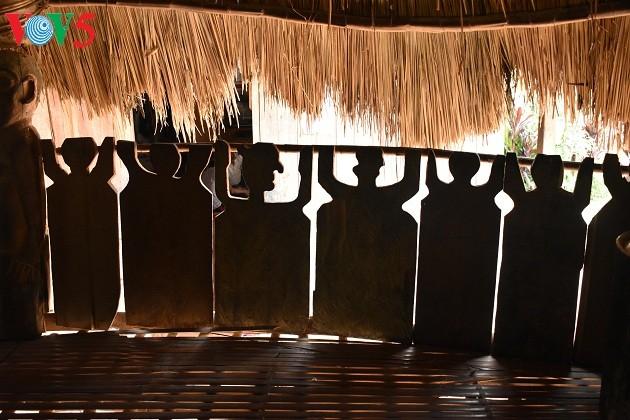 Дом на сваях «Гыол» в общине Ланг - ảnh 5