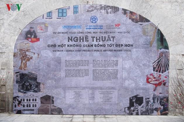 Картины на улице Фунг Хынг – пейзажи старого Ханоя - ảnh 1